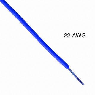 WIRE SOLID 22AWG 25FT BLUE TR64 TC