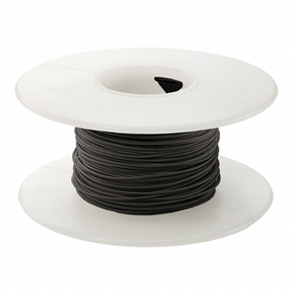 WW WIRE 30AWG SOLID 50FT BLACK 