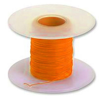 WW WIRE 30AWG SOLID 50FT ORANGE 