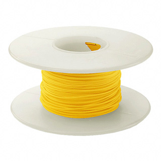 WW WIRE 30AWG SOLID 50FT YELLOW 