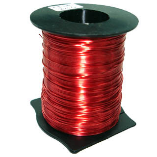 MAGNET WIRE 24AWG 0.51MM 273GR 493FT APPROX.