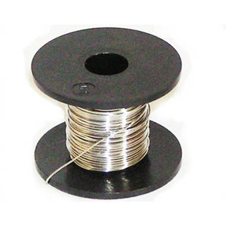 NICHROME WIRE 26AWG 0.40MM 25FT 2.67R/FT 60% NI 16% CR 24% FE