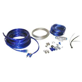 CAR AUDIO KIT 4AWG 1800W 16FT SPEAKER CABLE 20FT & WIRING KIT