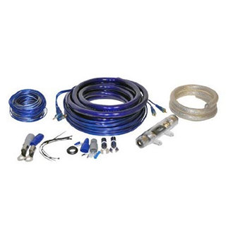 CAR AUDIO KIT 0AWG 5000W 16FT SPKR CABLE & WIRING KIT