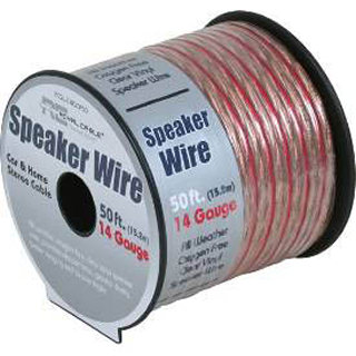 SPEAKER WIRE AWG 14 STD 50FT 
