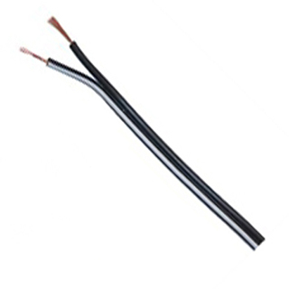 DC WIRE 22AWG BLK/WHT PAIR 50FT 