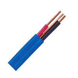 CABLE ELECTRIC 2C/14 50M BLU HOUSEHOLD SOLID FOR DRY LOCATION