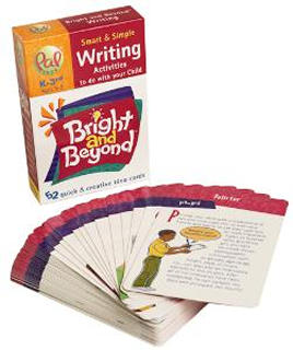 BRIGHT AND BEYOND CARDS WRITING AGE 5-9YRS SCHOOL YRS