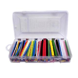 TUBING HST KIT 1/16 TO 3/8IN ASSORTED COLOURS 160PCS 4IN
