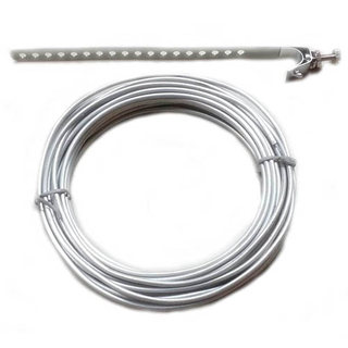 GROUND WIRE 8AWG ALUMINIUM 25FT WITH BRACKET