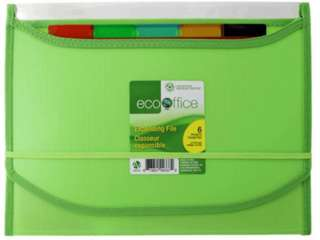 FILE POLY EXPANDING 6 POCKETS 