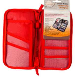 TRAVEL WALLET BUILT FOR AIRLINE BORDER DOCUMENTS ASSORTED COLORS
