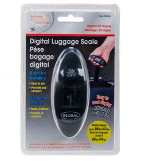 LUGGAGE SCALE DIGITAL WEIGHS UPTO 40KG 1 CR2032 INCLUDED