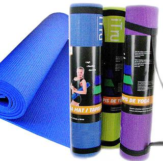 YOGA MAT 72X24IN 6MM THICK ASSORTED COLOR