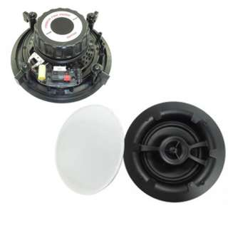SPEAKER CEILING WALL MOUNT 6.5IN 400WATTS 8R W/MAGNETIC GRILL