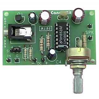 AUDIO AMPLIFIER WITH MICROPHONE PRE-AMP 5W